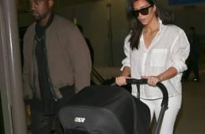 Kim Kardashian, Kanye et North West : Retour à la maison après l'Australie