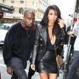 Kim Kardashian et Kanye West à Melbourne, le 9 septembre 2014.