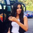 La sublime Francesca Brienza, animatrice sur AS Roma TV et nouvelle compagne du coach Rudi Garcia - 2014