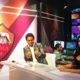 Francesca Brienza, animatrice sur AS Roma TV et nouvelle compagne du coach Rudi Garcia - 2014
