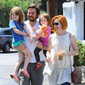 Alyson Hannigan : Maman complice avec ses filles, elle profite de la vie