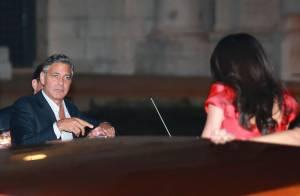 George Clooney et Amal Alamuddin, le mariage : Premier soir de fête à Venise !