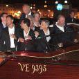 George Clooney et Amal Alamuddin ont célébré leur enterrement de vie de garçon/de jeune fille le 26 septembre 2014 à Venise, les hommes au restaurant Da Ivo, les femmes au Aman Grande Canal Venice.