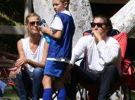 Heidi Klum : Son jeune chéri Vito Schnabel encourage avec elle son fils Johan