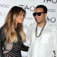 Khloe Kardashian et French Montana à l'anniversaire de Khloe au Tao Nightclub à Las Vegas, le 5 juillet 2014.