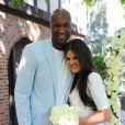 Khloe Kardashian et Lamar Odom célèbrent leur premier anniversaire de mariage, Berverly Hills le 27 septembre 2010.