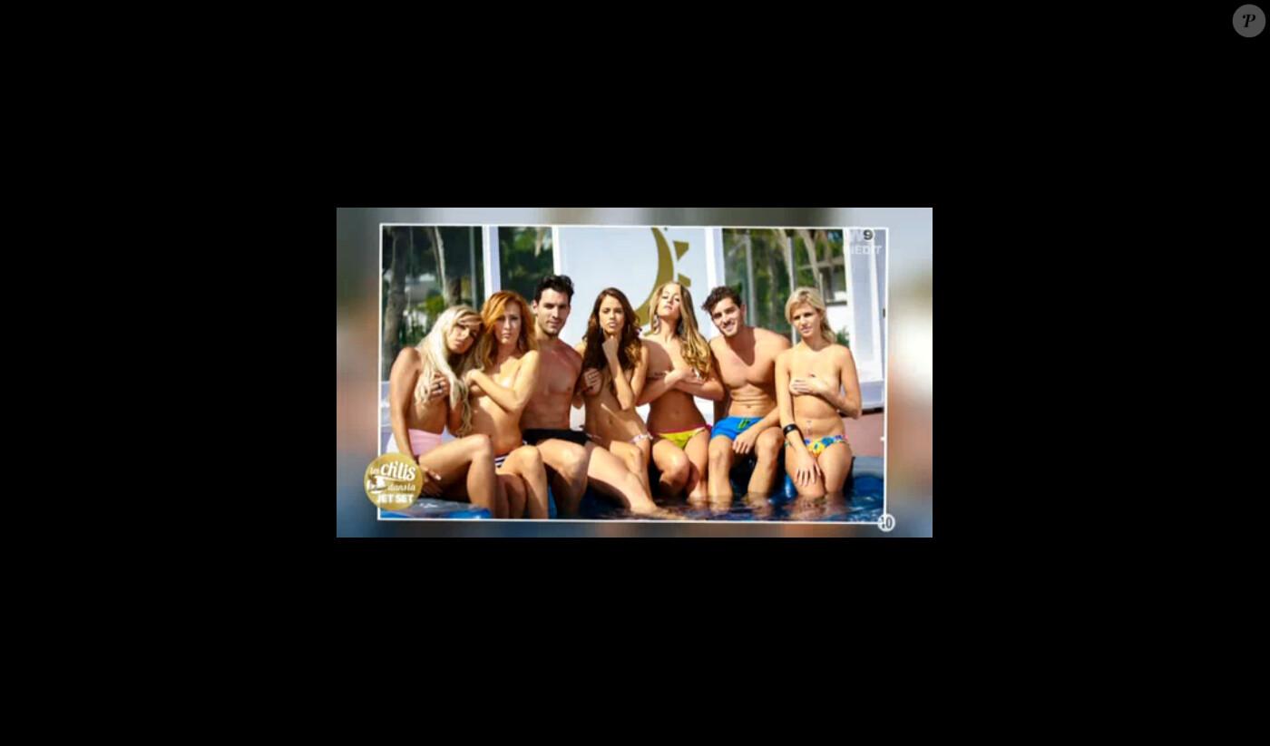 Gaelle Chti Nue les ch'tis vanessa lawrens, gaëlle et adixia posent topless
