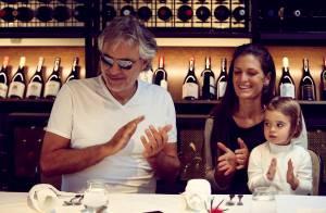 Andrea Bocelli : Sa fillette et son épouse lui souhaitent un bel anniversaire