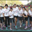 Samuel Etienne a participé à la course des kilomètres du coeur en avril 2011 avec Taig Kris ou encore Laury Thilleman et Alexandra Rosenfeld.