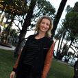 Exclusif - Alexandra Lamy à Nice le 18 mars 2014