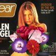 """La couverture du magazine """"Gear"""", paru en mars 200, que Jessica biel regrette. L'actrice y apparaissait topless (nous avons jugé bon de masquer la poitrine de l'actrice)."""