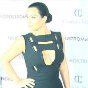 Kim Kardashian : Décolleté osé, la jeune maman n'a peur de rien !