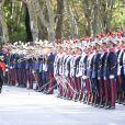 Le roi Felipe VI d'Espagne  à son arrivée lors de la fête nationale espagnole, à Madrid, le 12 octobre 2014.