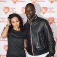 """Aïda Touihri et Omar Sy - Avant-Première du film """"Samba"""" au Gaumont Champs-Elysées Marignan à Paris pour l'association """"Cé Ke du Bonheur"""" à Paris le 14 octobre 2014."""