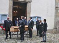 Obsèques de Marc Galabru : Le chagrin de son frère Michel, soutenu par son fils