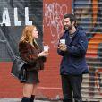 Scout Willis avec son nouveau petit ami Matt Sukkar dans les rues de New York, le 23 octobre 2014.