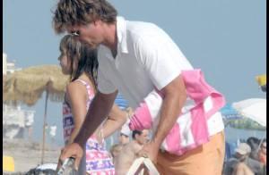 PHOTOS EXCLUSIVES : Quand la petite famille de Lisa Rinna fait des châteaux de sable...
