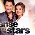 Vincent Cerutti et Sandrine Quétier présentent Danse avec les stars.