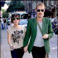 Natalie Imbruglia et Daniel Johns à Londres, le 27 août 2007.