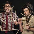 Les Fills Monkey (Sébastien Rambaud, Yann Coste), Incredible Drum Show. Teaser, octobre 2014.