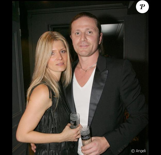 Emmanuel Petit et sa compagne Maria