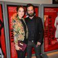 Anaïs Demoustier et Romain Duris - Avant-première du film Une Nouvelle Amie au cinéma MK2 Bibliothèque à Paris, le 3 novembre 2014