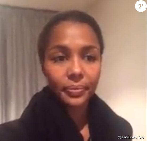 """Ayo annonce à ses fans qu'elle ne pourra pas participer au concert """"Taratata"""" le 9 novembre 2014 au Zénith de Paris."""
