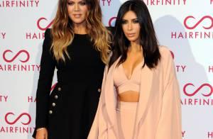 Kim Kardashian : Égérie ultrasexy au côté de sa soeur Khloé