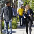 Exclusif - Iggy Azalea et Nick Young à Los Angeles, le 2 novembre 2014.