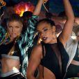 Image du clip de Fergie - L.A. Love (La La) - réalisé par Fatima Robinson, novembre 2014.