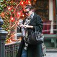 Liv Tyler enceinte à New York le 10 novembre 2014.