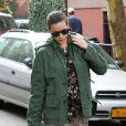 Liv Tyler enceinte se promène dans les rues de New York, le 29 octobre 2014.