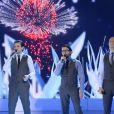 """Les Stentors - Enregistrement de l'émission """"Vivement Dimanche"""" diffusée le 16 novembre 2014 sur France 2."""