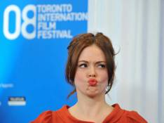 PHOTOS : La jolie Rose McGowan en plein concours... de grimaces !