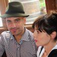 Le coach Pep Guardiola et sa femme Cristina Guardiola à Munich, le 6 octobre 2013.