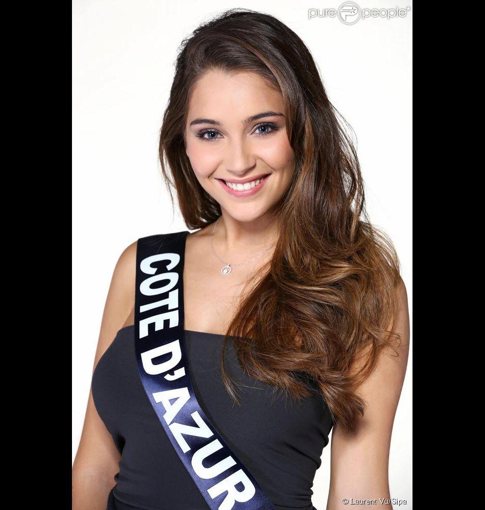 Charlotte Pirroni, Miss Côte d'Azur, candidate à l'élection Miss France 2015