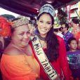 Hinarere Taputu, Miss Tahiti : Deviendra-t-elle Miss France 2015 ?