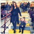Émilie Nef Naf, enceinte de son deuxième enfant, et sa petite Maëlla : fière de son baby bump qu'elle ne peut plus cacher !