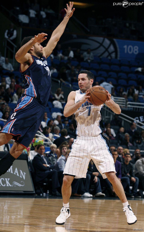 Jeffery Taylor, des Charlotte Bobcats (maintenant Charlotte Hornets) lors d'un match face à Orlando le 18 janvier 2013 à l'Amway Center d'Orlando