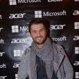 """Christophe Beaugrand lors de l'inauguration de la première boutique éphémère """"Acer"""" rue des Halles à Paris, le 20 novembre 2014."""