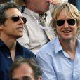 Ben Stiller et Owen Wilson à l'US Open 2011.