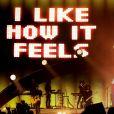 Enrique Iglesias en concert sur la scène de Bercy à Paris, le 21 novembre 2014