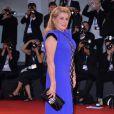 """Catherine Deneuve - Tapis rouge du film """"3 coeurs"""" lors du 71e festival international du film de Venise, le 30 août 2014"""