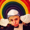 Miley Cyrus dans tous ses états sur Instagram en novembre 2014.