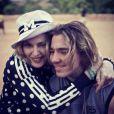 Madonna et son fils Rocco au Malawi, novembre 2014.
