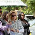 Madonna arrive au Queen Elizabeth Central Hospital à Blantyre, Malawi, le 27 novembre 2014