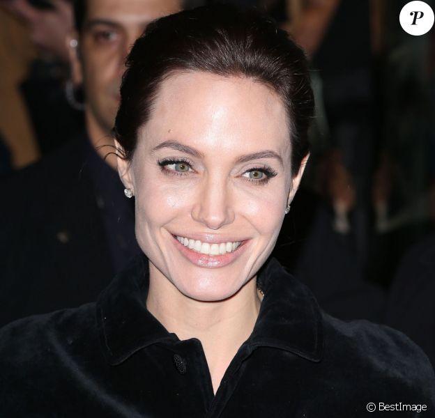 """Angelina Jolie à la soirée """"Unbroken"""" au Musée d'Art Moderne à New York, le 2 décembre 2014."""