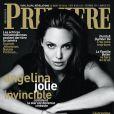 Angelina Jolie en couverture du magazine Première pour le mois de décembre 2014.