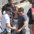 """Exclusif - Tom Cruise à bord d'une BMW tourne une scène du film """"Mission : Impossible 5"""" à Rabat au Maroc le 25 septembre 2014"""