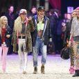 Edwina Tops-Alexander, Charlotte Casiraghi lors de l'épreuve Style & Sport Competition for AMADE au troisième jour du Gucci Paris Masters à Villepinte le 6 décembre 2014